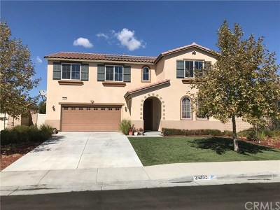 Menifee Single Family Home For Sale: 25352 Lone Acres Road