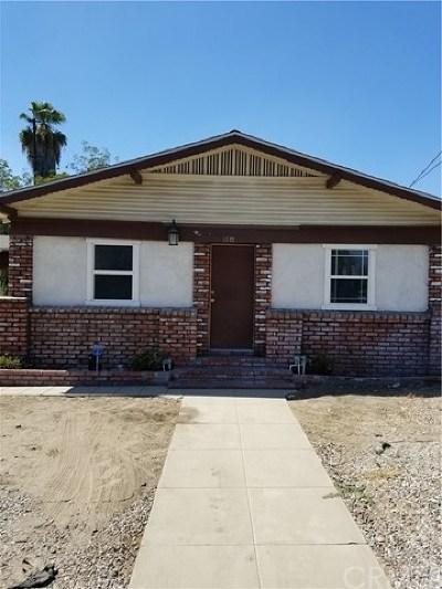 San Bernardino Single Family Home For Sale: 1322 N D Street