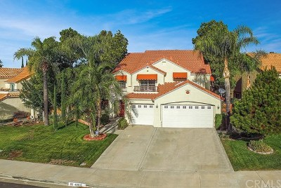 Temecula, Murrieta Single Family Home For Sale: 40011 Fairwood Circle