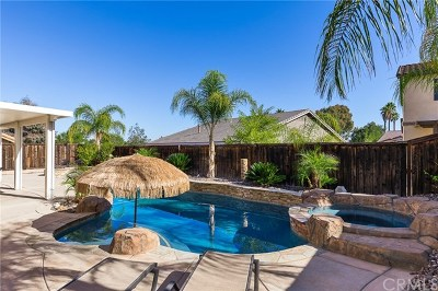 Wildomar Single Family Home For Sale: 33630 Mill Pond Drive