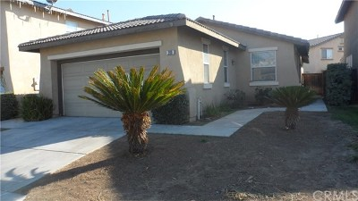 Perris Single Family Home For Sale: 289 Flame Avenue