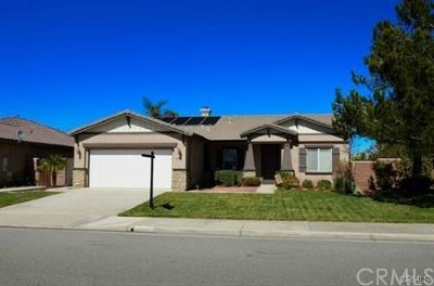 Menifee Single Family Home For Sale: 29106 Calcite Street