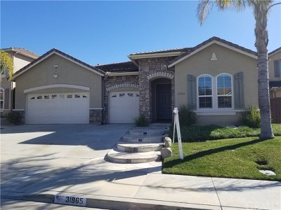 Temecula Single Family Home For Sale: 31965 Camino Rabago