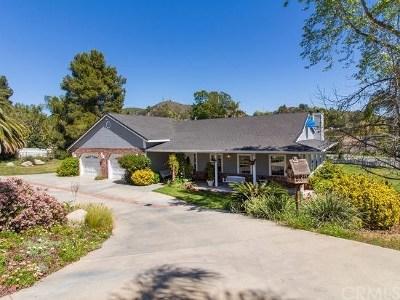 Fallbrook Single Family Home For Sale: 2745 E Mission Road