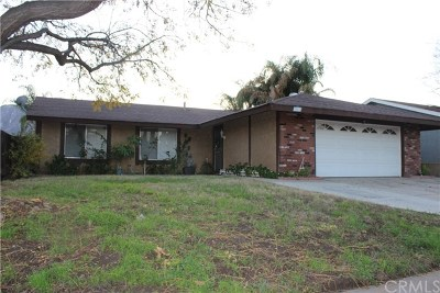 Lake Elsinore Single Family Home For Sale: 3841 Adams Street