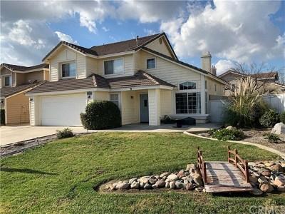 Menifee CA Single Family Home For Sale: $349,900