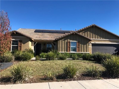 Menifee Single Family Home Active Under Contract: 31738 Victoria Place