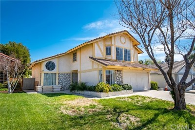 Murrieta Single Family Home For Sale: 24420 Oakridge Circle