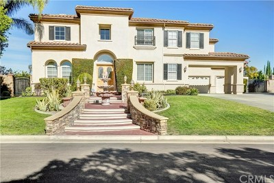 Riverside, Temecula Single Family Home For Sale: 1987 Sycamore Hill Drive