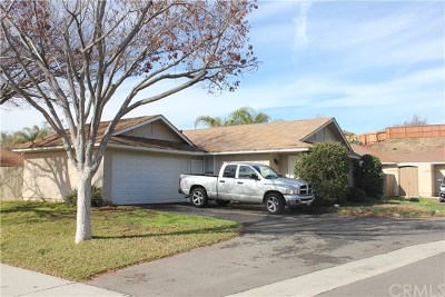 Temecula CA Single Family Home Active Under Contract: $275,000