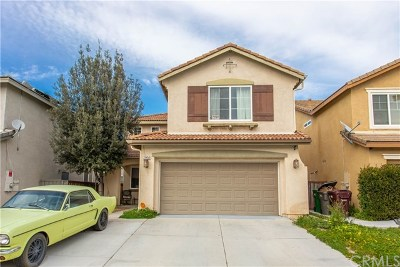 Menifee Single Family Home For Sale: 29450 Cresta Drive