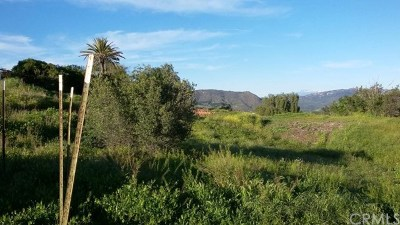 Fallbrook Residential Lots & Land For Sale: Quail Hill Road