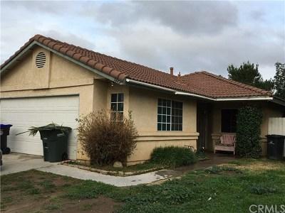 Hemet Single Family Home For Sale: 1442 Fallbrook Avenue