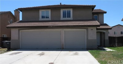 Hemet Single Family Home For Sale: 1599 Cedarspring Drive