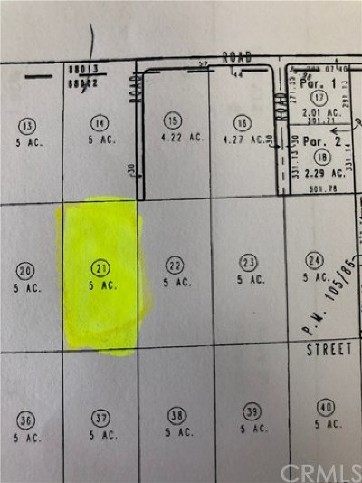 Lucerne Valley Residential Lots & Land For Sale: Desert View Drive