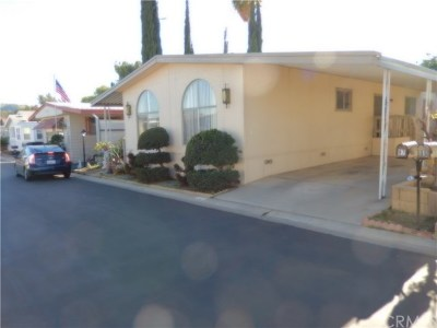 Riverside Mobile Home For Sale: 4000 Pierce