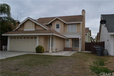 Perris Single Family Home For Sale: 131 Evergreen Place