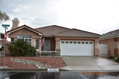 Menifee Single Family Home For Sale: 27792 Ruggie Road