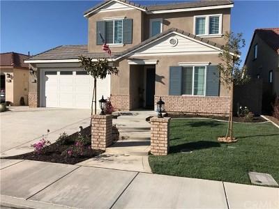 Menifee Single Family Home For Sale: 29742 Fingerling Drive