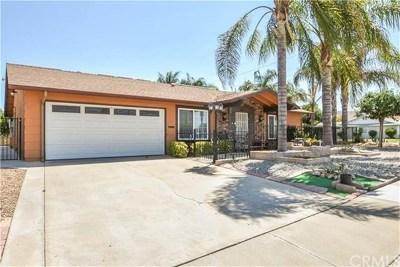 Menifee Single Family Home For Sale: 26011 Lancaster Drive