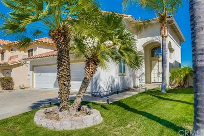 Temecula Single Family Home Active Under Contract: 44926 Camino Veste