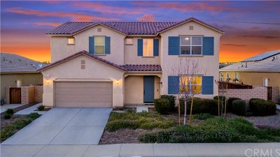 Winchester Single Family Home For Sale: 31613 Via Del Paso