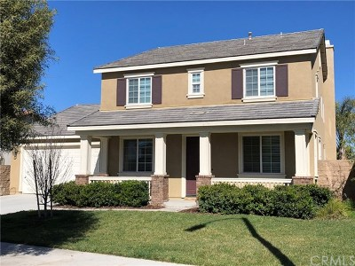 Menifee Single Family Home For Sale: 29536 Barefoot Circle