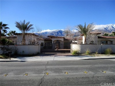 Palm Springs CA Single Family Home For Sale: $1,195,000