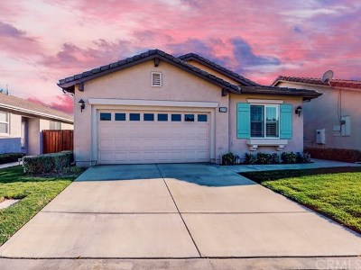 Hemet Single Family Home For Sale: 7693 Couples Way