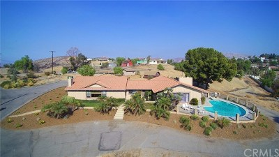 Corona Single Family Home For Sale: 7486 Smerber Road