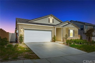 Menifee Single Family Home For Sale: 24848 Coldwater Canyon
