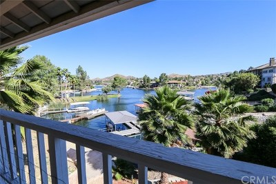 Canyon Lake Single Family Home For Sale: 22681 Blue Teal Drive
