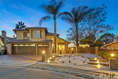 Corona Single Family Home For Sale: 1250 Oakcrest Circle