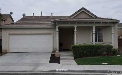 Perris Single Family Home For Sale: 1755 Benedetto