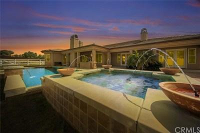 Temecula Single Family Home For Sale: 34708 Pauba Road