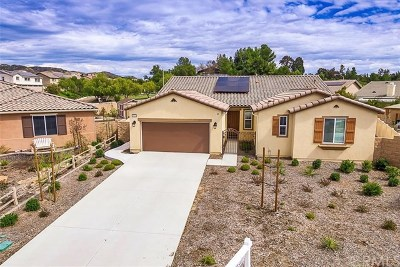 Wildomar Single Family Home For Sale: 26282 Meadow Creek Lane