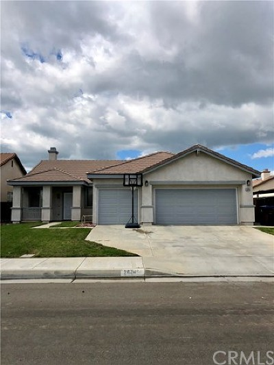 Menifee Single Family Home For Sale: 26745 Hull Street