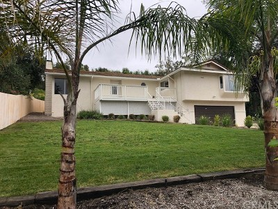 Fallbrook Single Family Home For Sale: 1805 Chapulin Lane