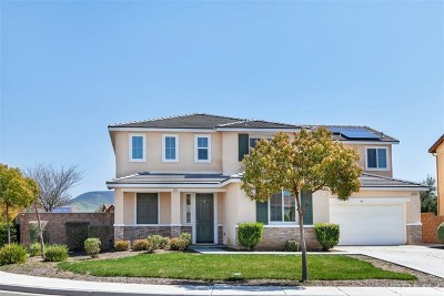 Winchester, French Valley Single Family Home For Sale: 34942 Ryanside Court