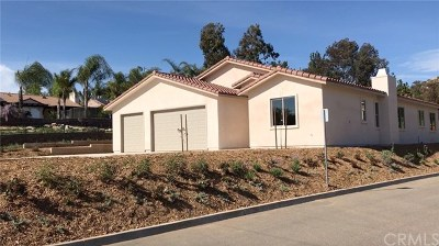 Escondido Single Family Home For Sale: 2046 Conway Drive