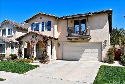 Corona Single Family Home For Sale: 11448 Magnolia Street