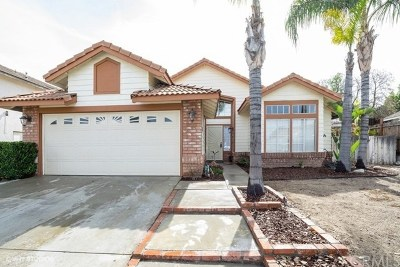 Wildomar Single Family Home Active Under Contract: 33666 Cherry Street