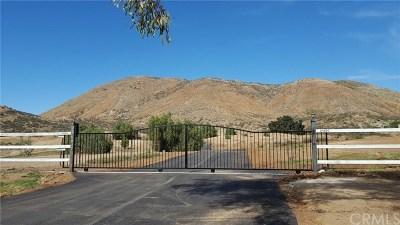 Canyon Lake, Lake Elsinore, Menifee, Murrieta, Temecula, Wildomar, Winchester Rental For Rent: 23690 Bundy Canyon Road