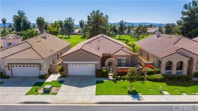 Menifee Single Family Home For Sale: 29461 Springside Drive