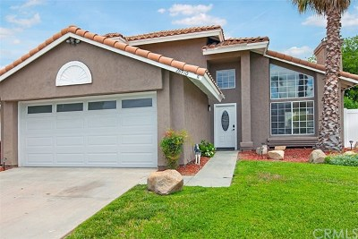 Menifee Single Family Home For Sale: 28910 Via Marsala