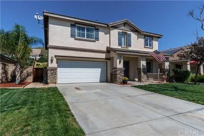 Menifee Single Family Home For Sale: 24944 Springbrook Way