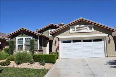 Menifee Single Family Home For Sale: 26118 Desert Rose Lane