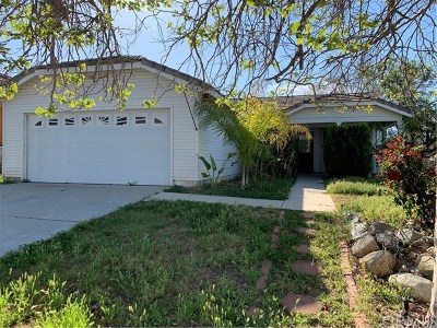 Wildomar Single Family Home For Sale: 33746 Breckenridge