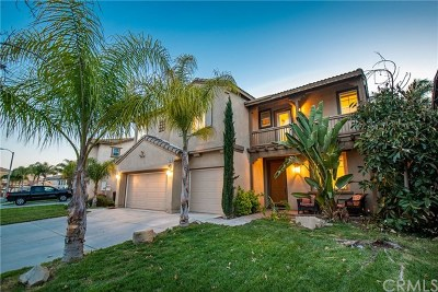 Murrieta Single Family Home For Sale: 33561 Carnation Avenue