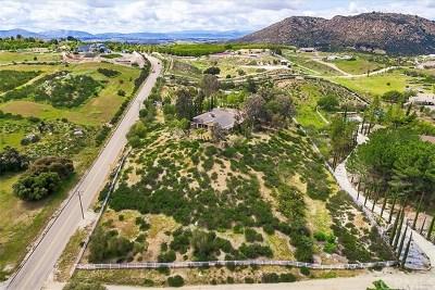 Temecula Single Family Home For Sale: 38090 Mesa Road